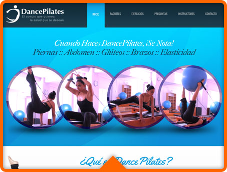 DancePilates Web