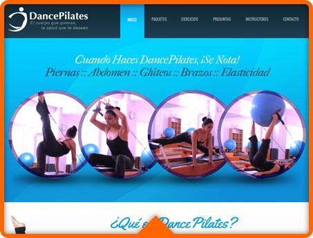 DancePilates Web