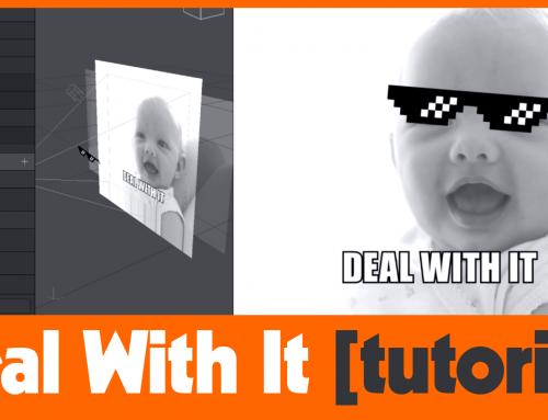 Facebook AR Studio #DealWithIt